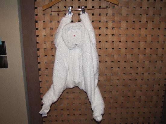 Club Med La Pointe aux Canonniers: Monkey towel
