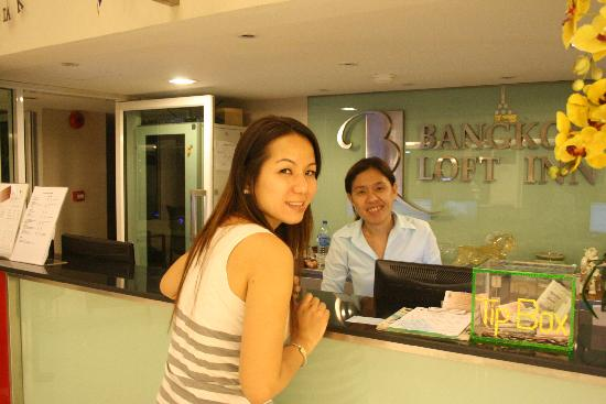 Bangkok Loft Inn: great staff!