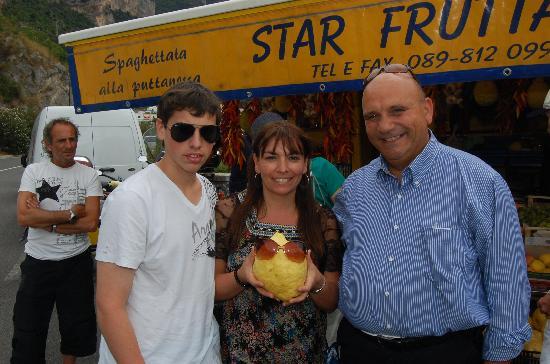 Simply Amalfi: Amalfi Cost lemons, family and Claudio