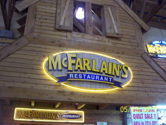 McFarlain's Family Restaurant : the restaurant