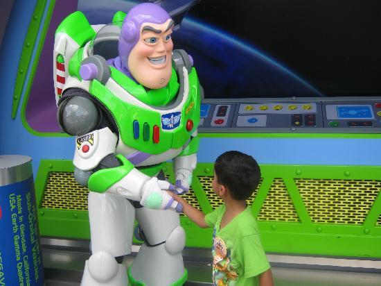 Walt Disney World Resort: meeting buz