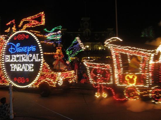 Walt Disney World Resort: the electric parade