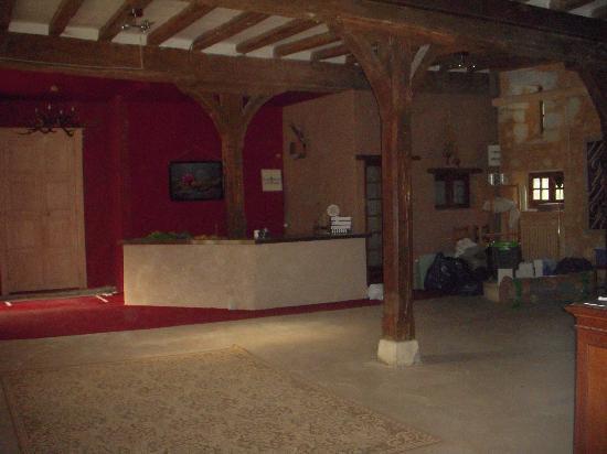 Château-monastère de la Corroirie : Supposed reception room
