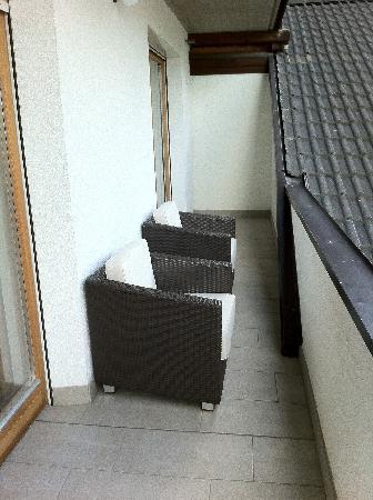 Alphotel Stocker: Balkon Kristallsuite