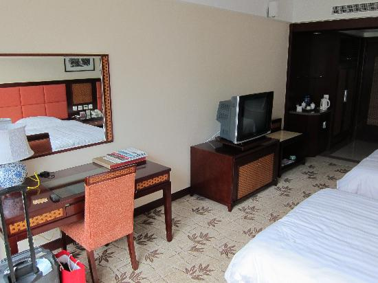 Hua Sheng International Hotel : twin-bedroom 2
