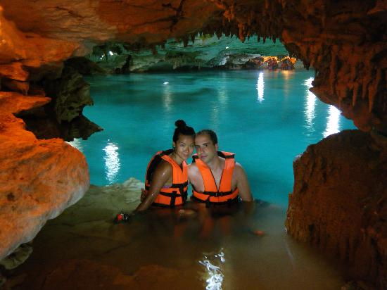Puerto Aventuras, เม็กซิโก: Entrance to the second cave - Breathtaking!