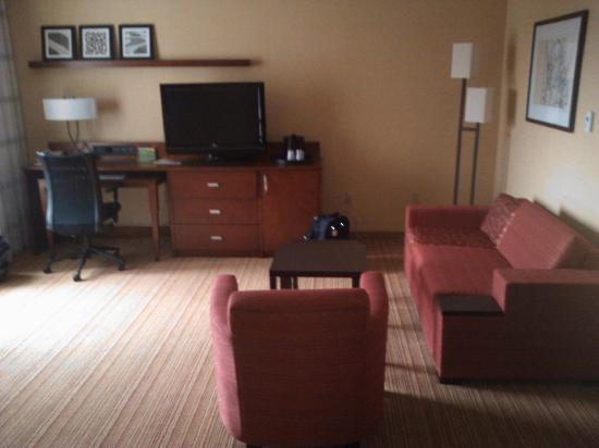 Courtyard Grand Rapids Downtown : Room facing South