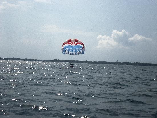 Dockside Watersports & Parasailing: Time for a dip to cool off