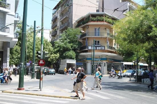 Hotel Moka: Hotel zwischen 2 Hauptstraßen
