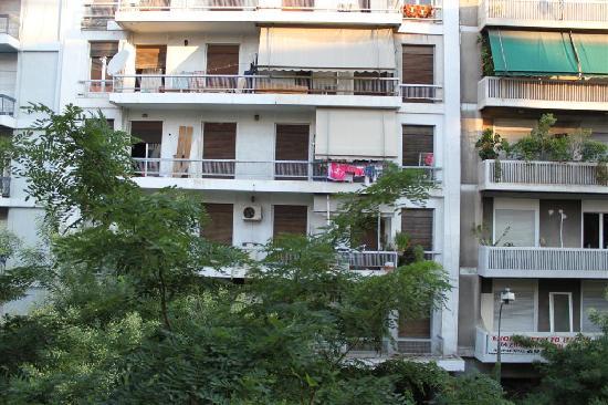 Hotel Moka: Blick aus dem Hotelfenster