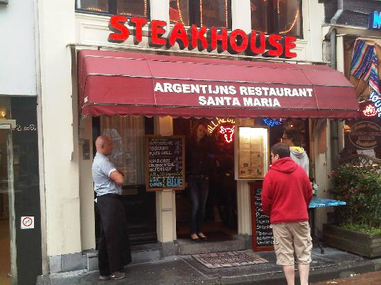 Restaurant Grill & Steakhouse Santa Maria Argentijns: Steakhouse Santa Maria