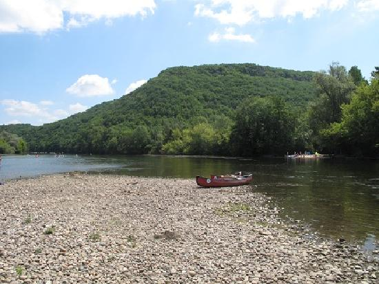 Dordogne River : Picnic on the Dordogne