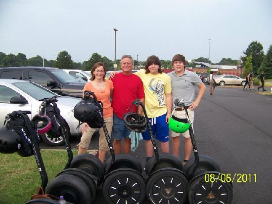 Segway Experience of Charlotte: Family Fun