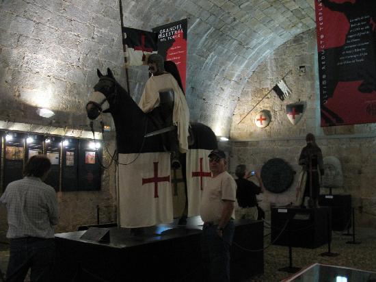 Castillo Templario Ponteficio: Knights Templar built the castle