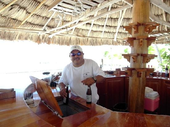Turneffe Island Resort: George/Jorge, the bartender