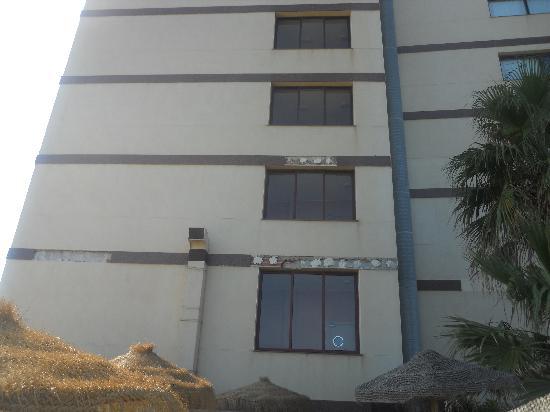 VIK Gran Hotel Costa del Sol: une facade digne de l'hotel en perdition !