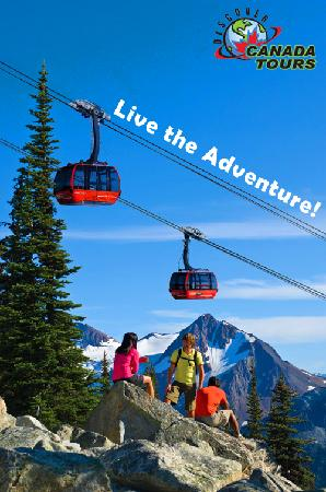 Discover Canada Tours: Beautiful scenery ! It's in Whistler.