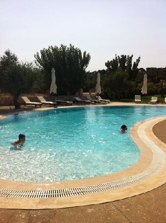 Pylos, Griechenland: the pool