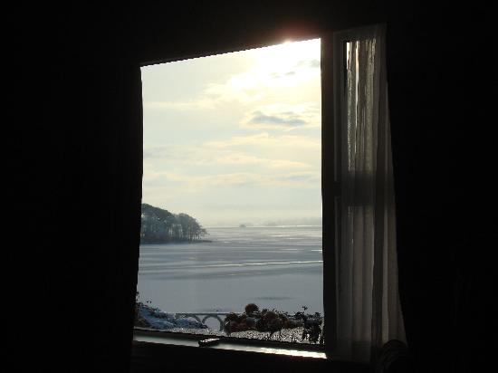 St Kyrans Country House & Restaurant: frozen lake