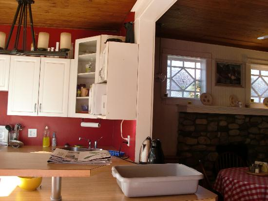 Blue Mountain Lodge: kitchen for breakfast