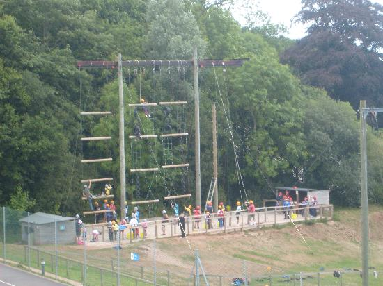 PGL Barton Hall: Trapezee, Vertical Challange, Jacobs Ladder