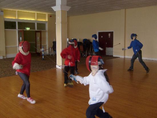 PGL Barton Hall: Fencing