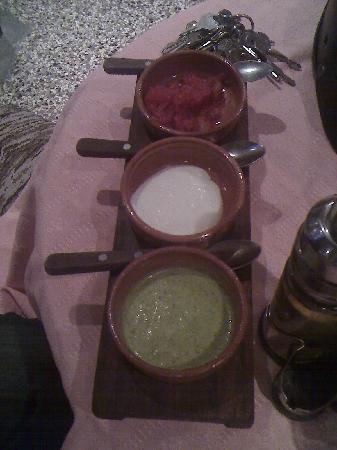 Sociedad Asturiana Castropol: Sauces to accompany fish