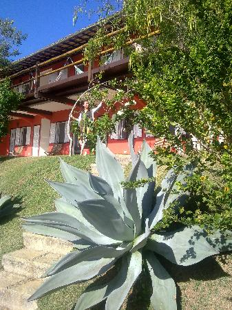 Pousada Vila Pitanga: Jardín