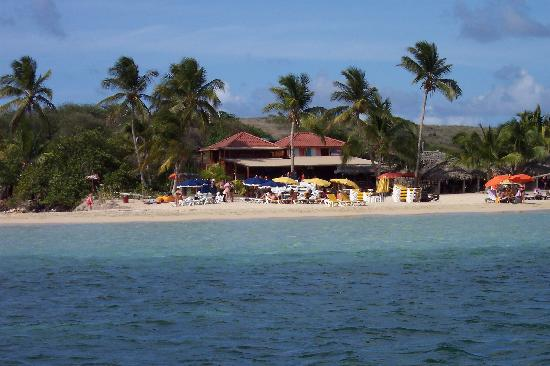 Orient Bay Beach: Pinel Island