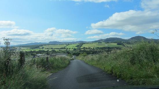 Road leading out of Linnmhor House