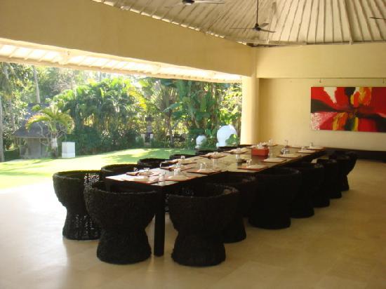 Villa Infinity Bali: Dining Pavillion
