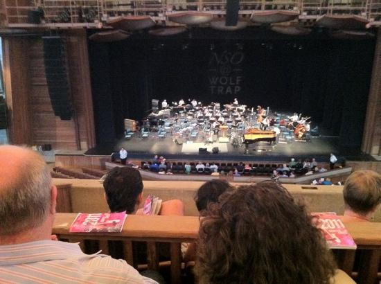 Wolf Trap National Park for the Performing Arts: Filene Center
