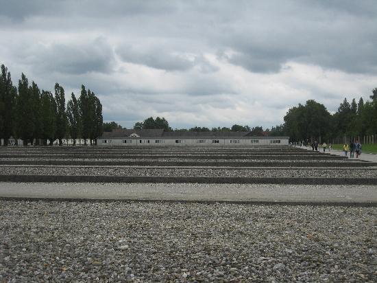 Dachau: The site of the barracks