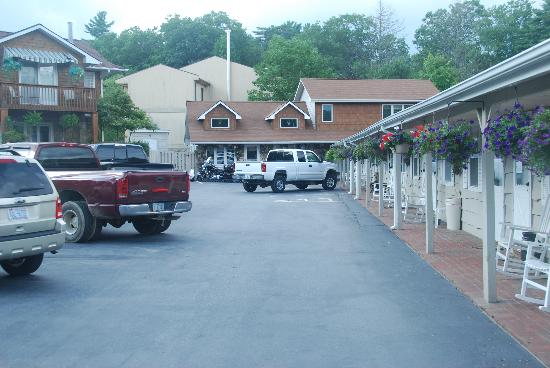 Alpine Village Inn: Motorcycle Security
