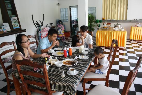 Supsangdao Resort: breakfast time