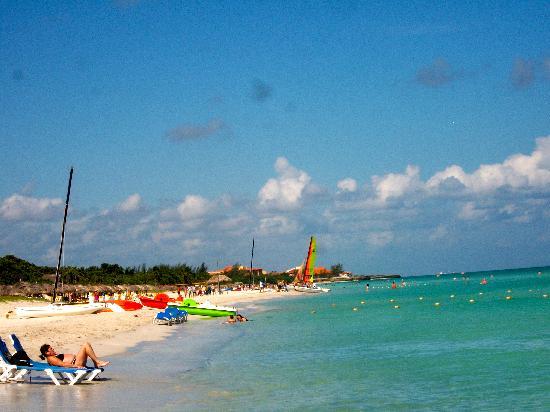 Melia Las Antillas: beach