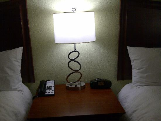 Hampton Inn Hickory: Cool lamp