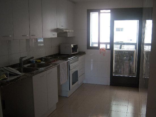Plaza Picasso: Cozinha