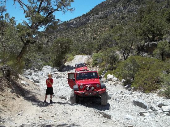 Las Vegas Rock Crawlers: A stop along the trail