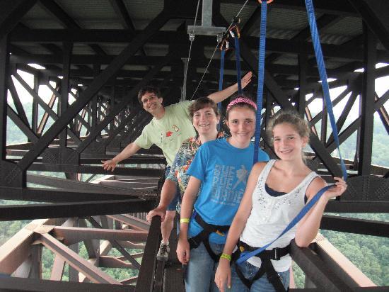 Fayetteville, WV: On the bridge walk