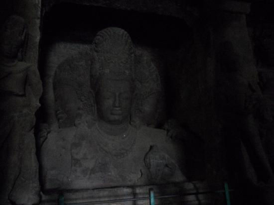 Elephanta Island, Indien: the cave