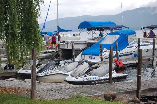 The Villas On Lake George: jet ski's for rent