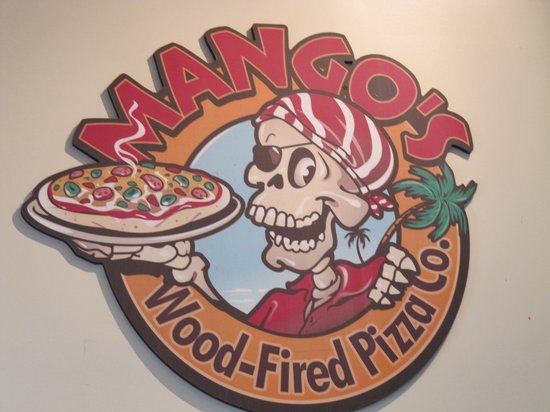 Mango's Wood-Fired Pizza Co.: Their logo