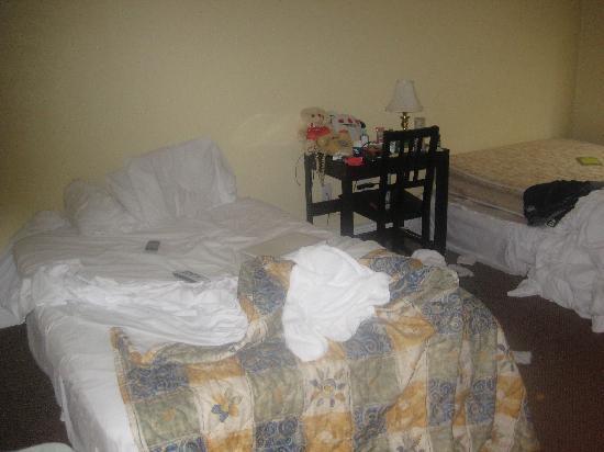 Hotel Ponce De Leon : 2 double bedroom - pretty roomy