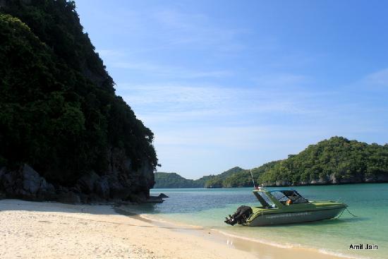 Mu Ko Ang Thong National Park: Lovely beach at Ko Wua Talab