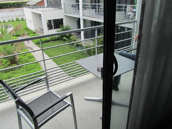 Hotel Eden Park : terrasse