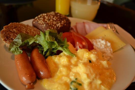 Scandic Talk : 朝食のブッフェは満足でした