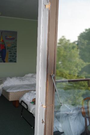 Maribo, Denemarken: Balkontüre