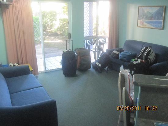 Alexandra Serviced Apartments : lounge