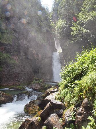 Hotel Folgarida: cascata del Pison nel bosco